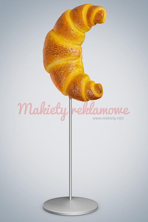 Makieta reklamowa - Rogalik reklamowy